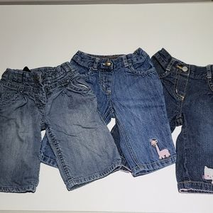 3-6M Baby Girl Jeans